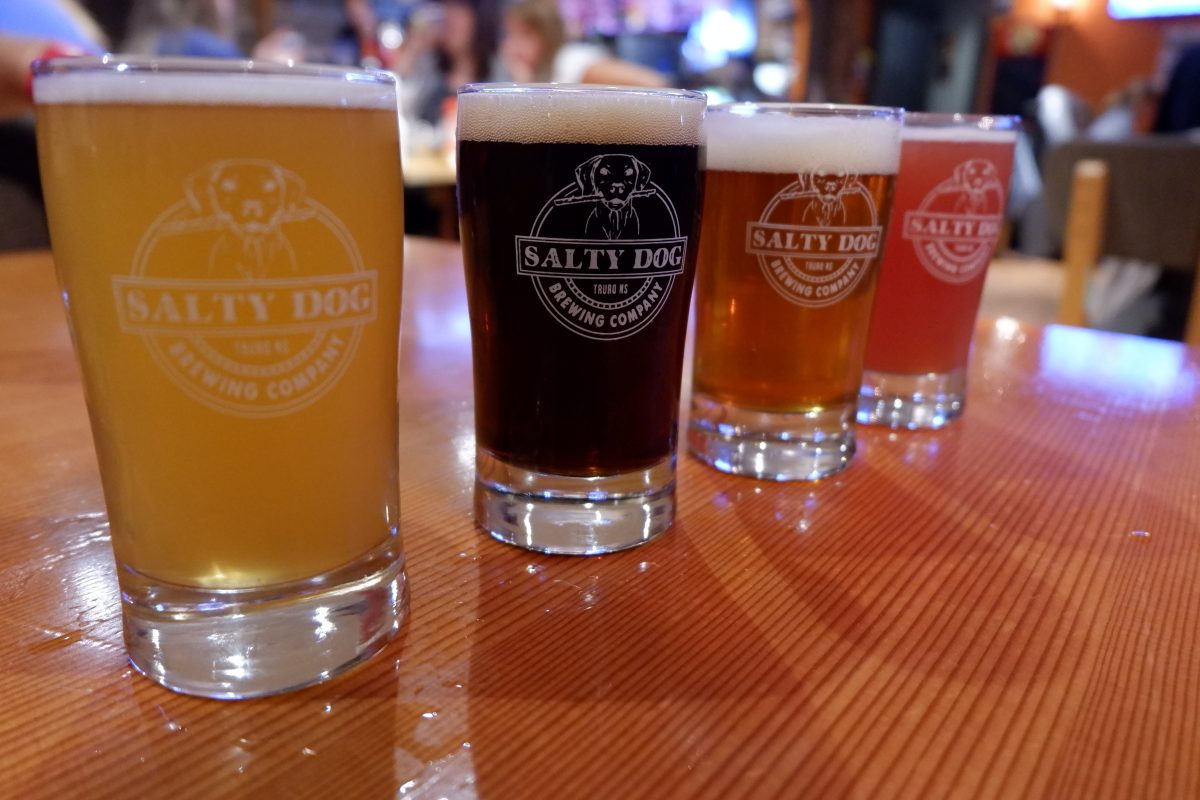 Salty Dog Craft Beer