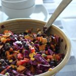 seven layer sweet potato salad