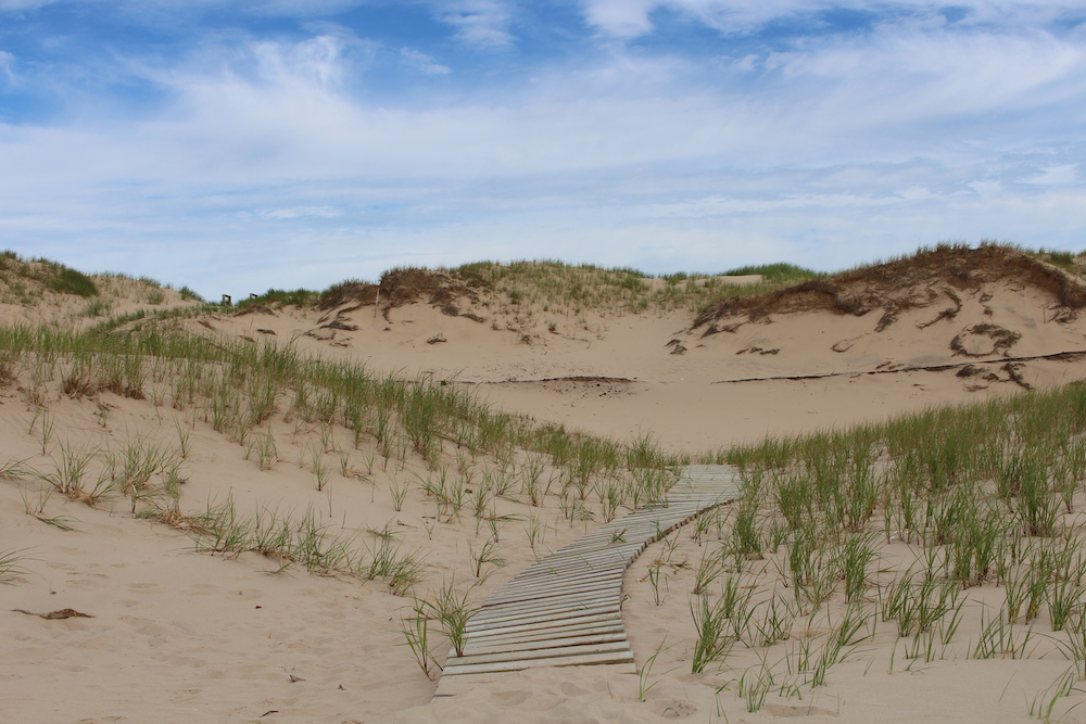 best beaches in the magdalen islands