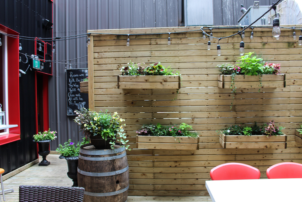 secret Downtown Halifax patios