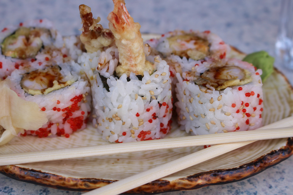 Dharma Sushi Dragon Roll Halifax