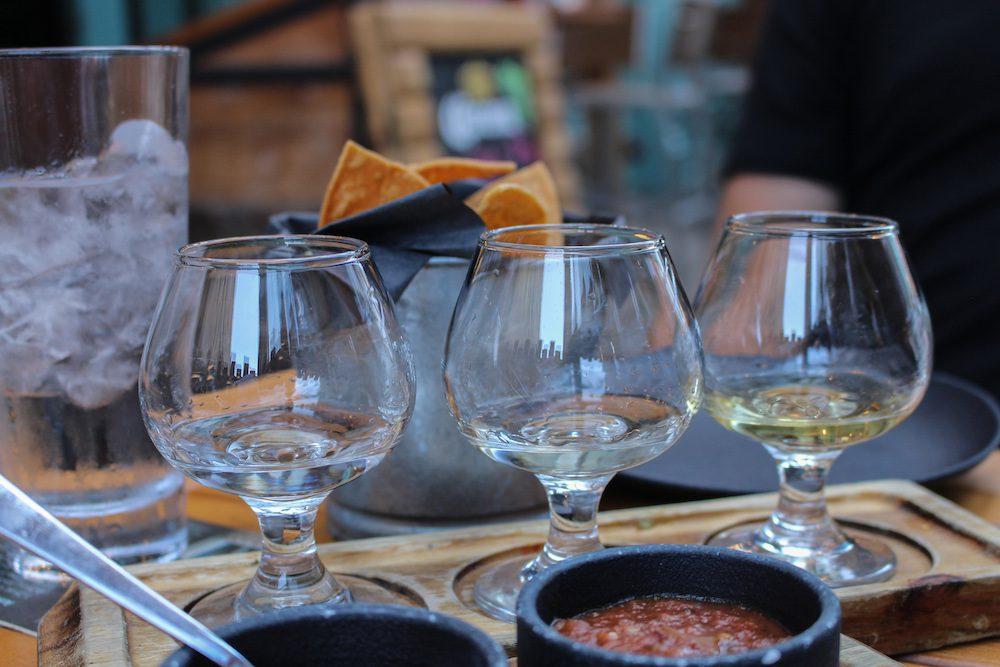 Antojo Tacos + Tequila Halifax Tequila Flight