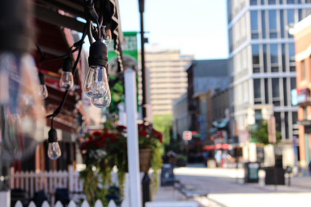Patios in Halifax on Arygle Street