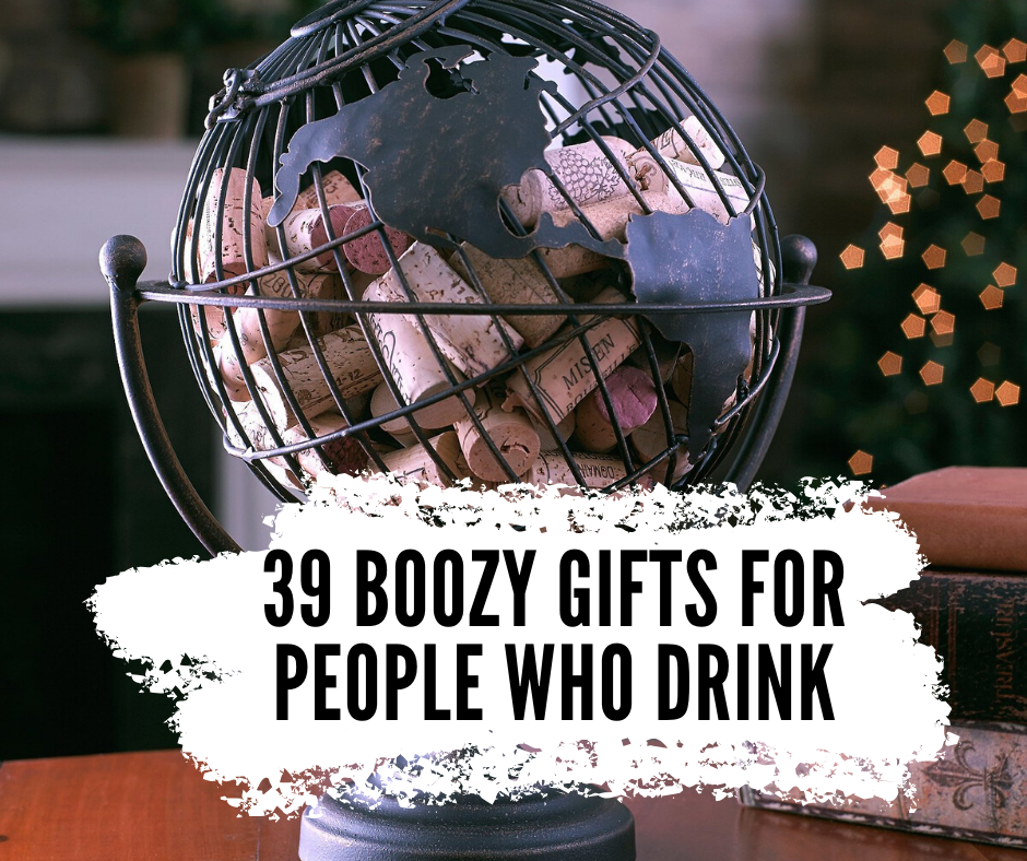 Gift ideas for people who drink