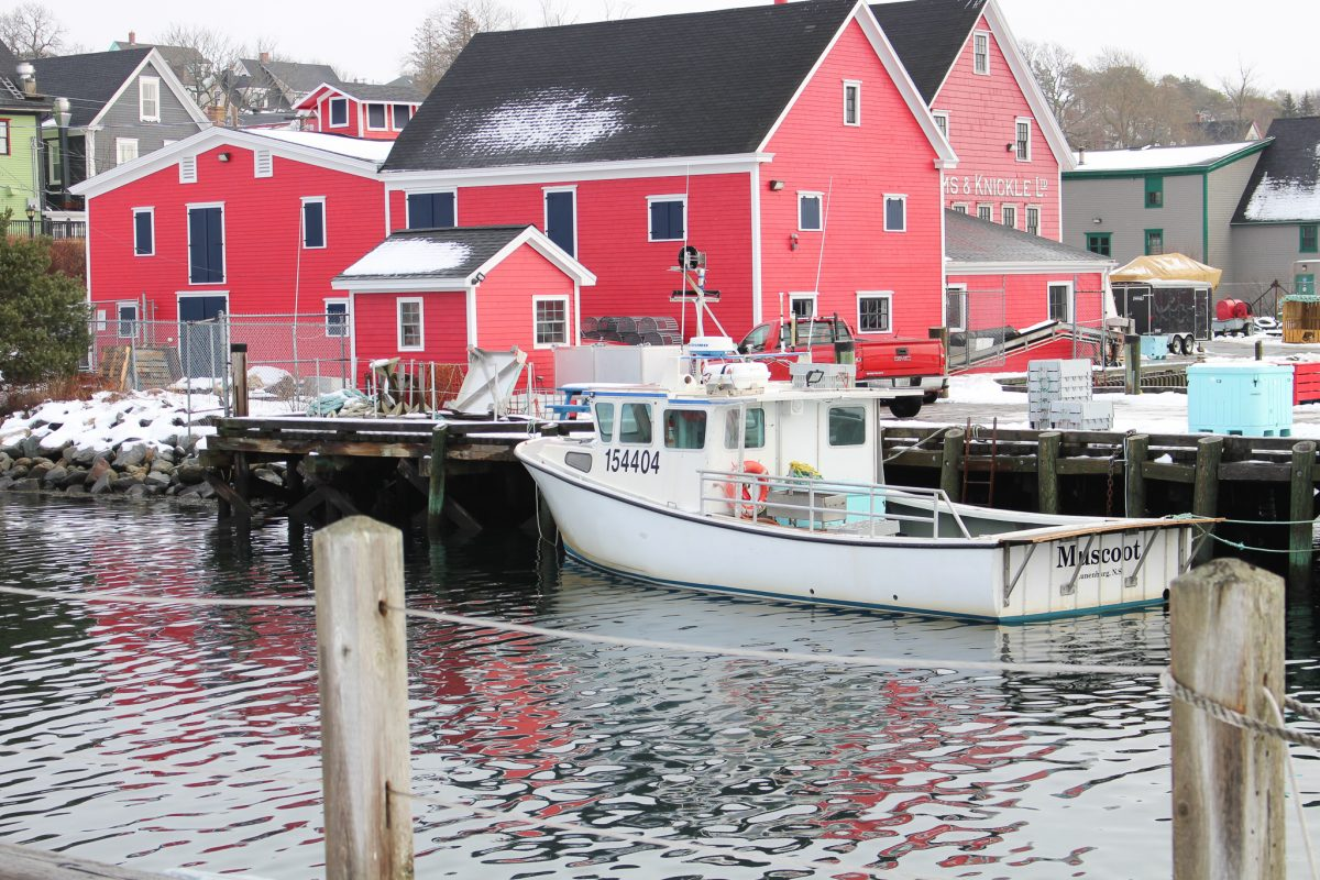 Lunenburg Nova Scotia Winter Travel
