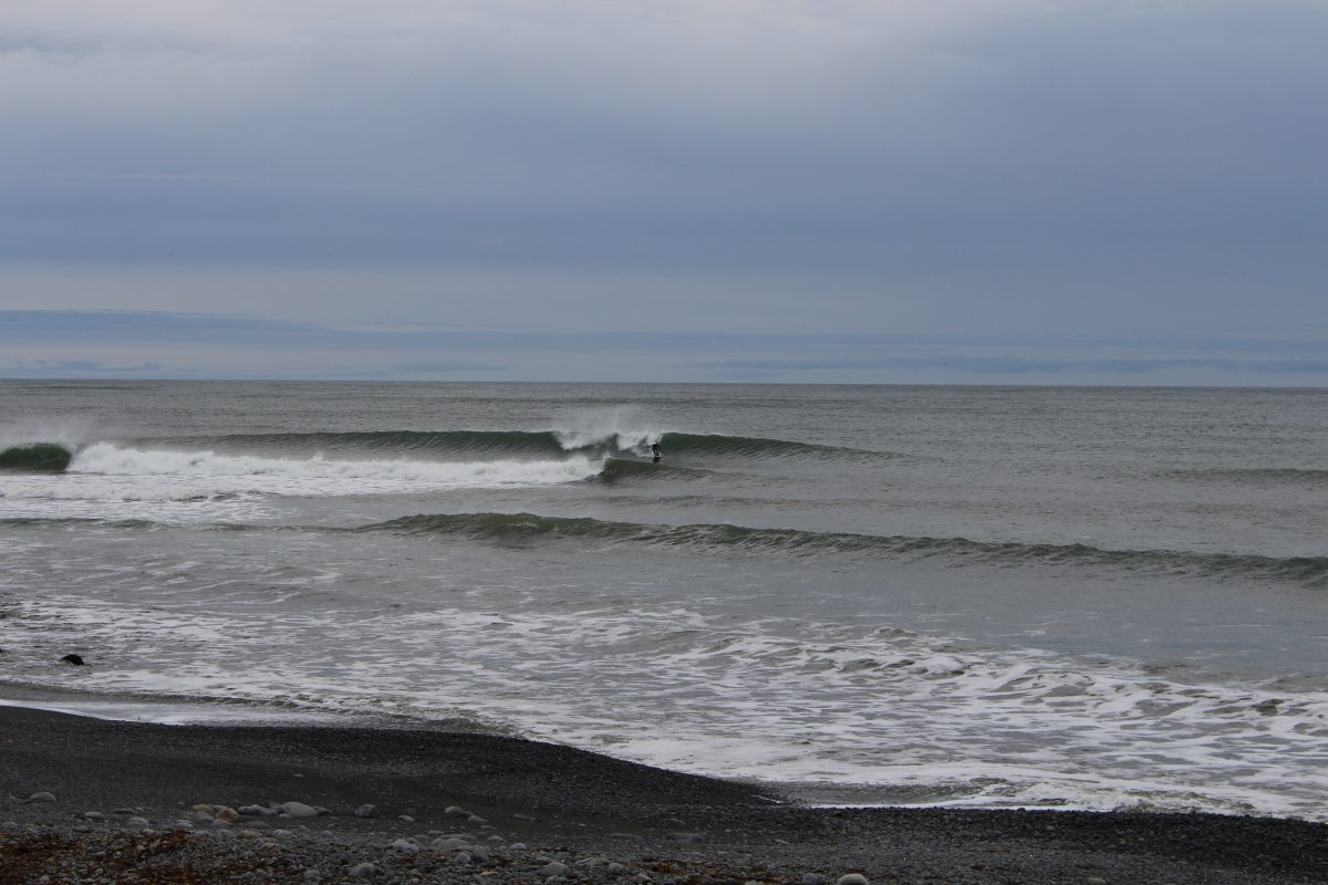 Winter Surfing Nova Scotia