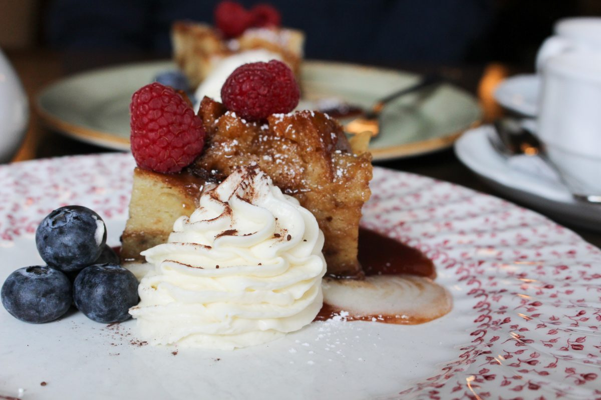 Bistro Le Coq bread pudding
