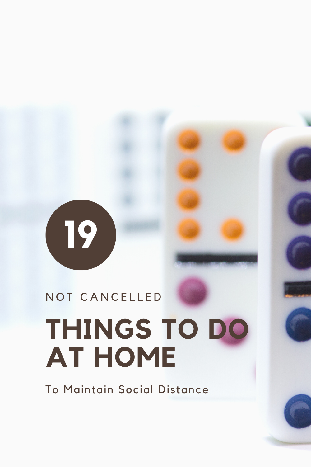 19 Things to do at home