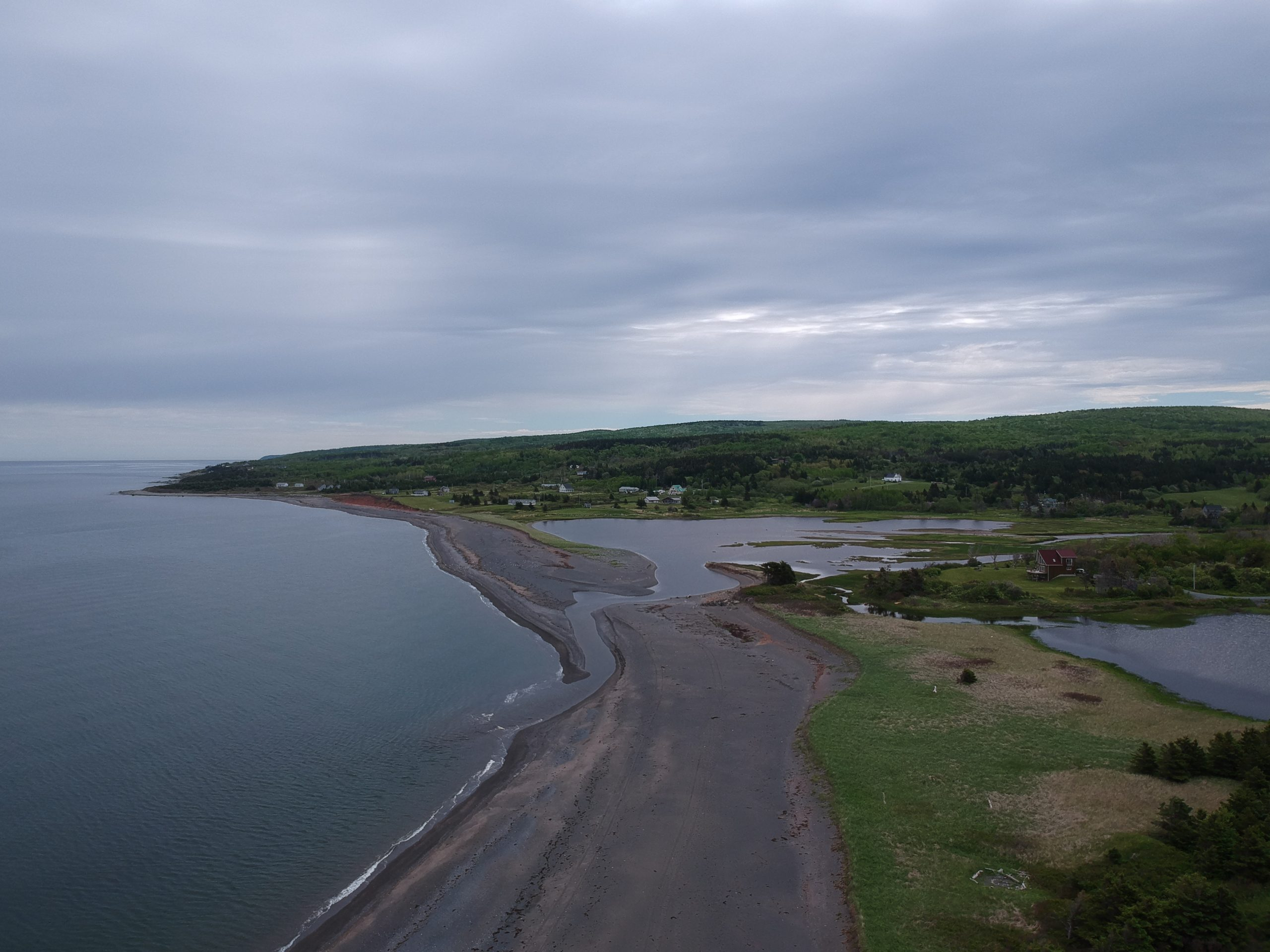 Malignant Cove Beach in Antigonish Nova Scotia