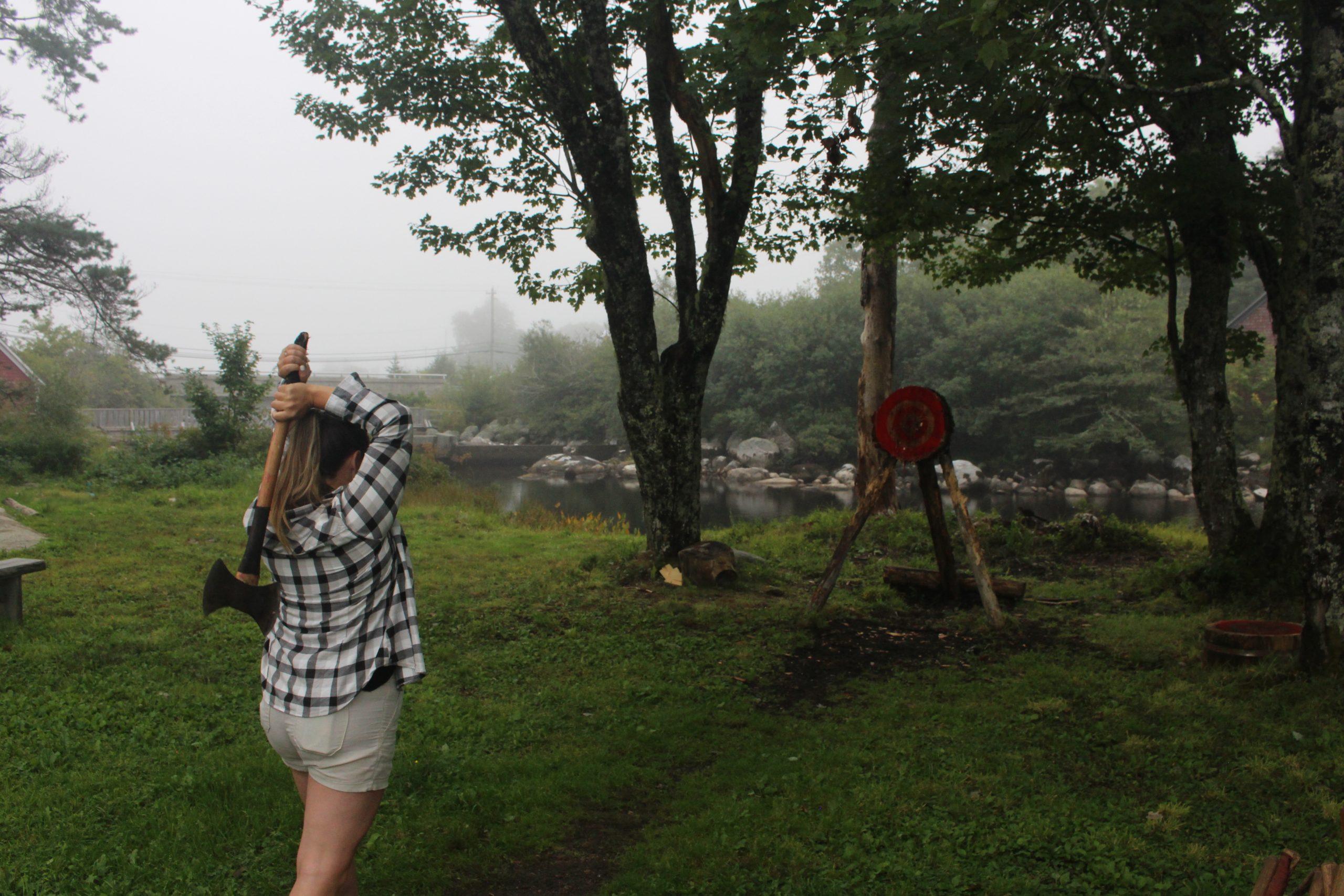 Darren Hudson Lumberjack Experience