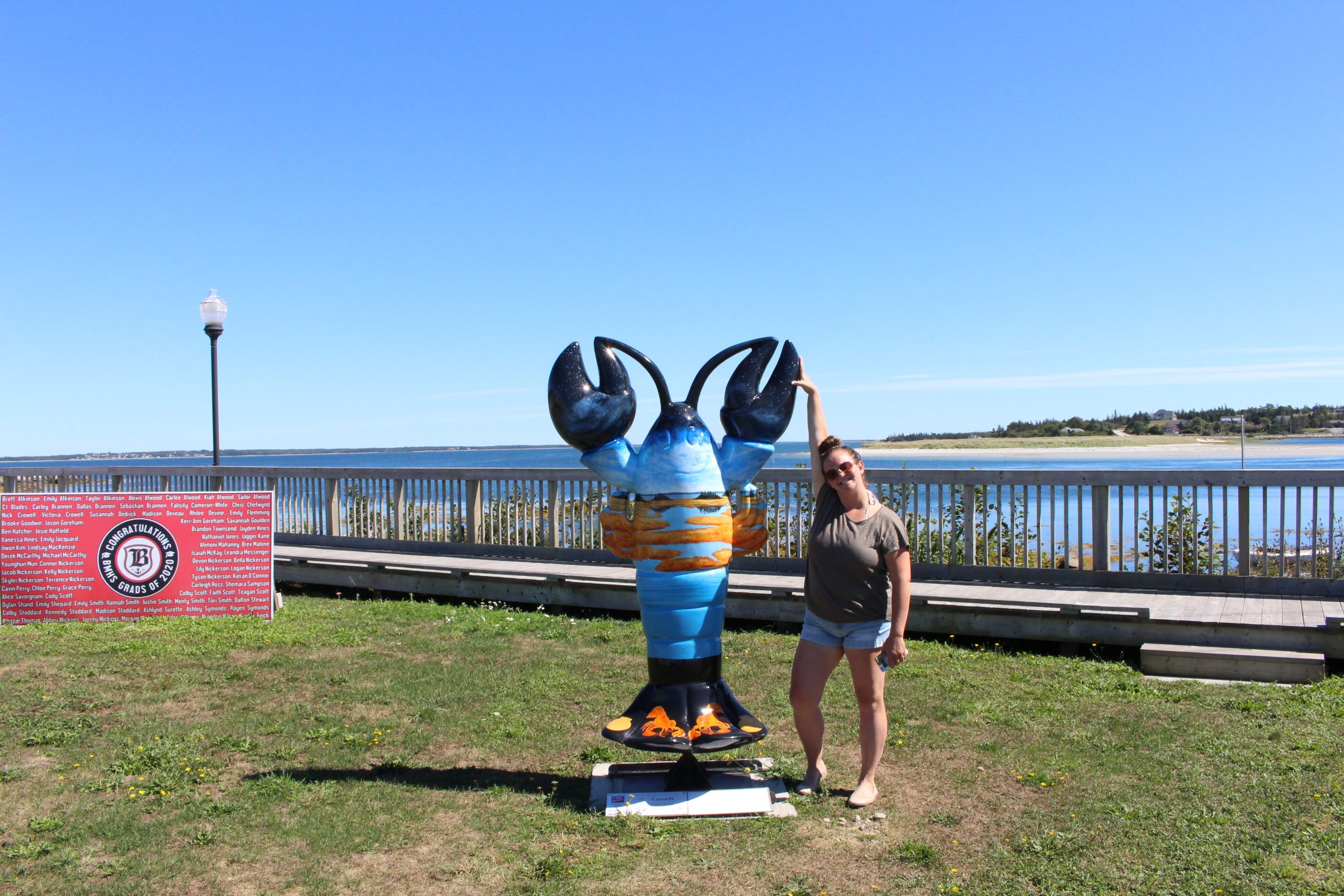 Lobster Sculptures Barrington Nova Scotia