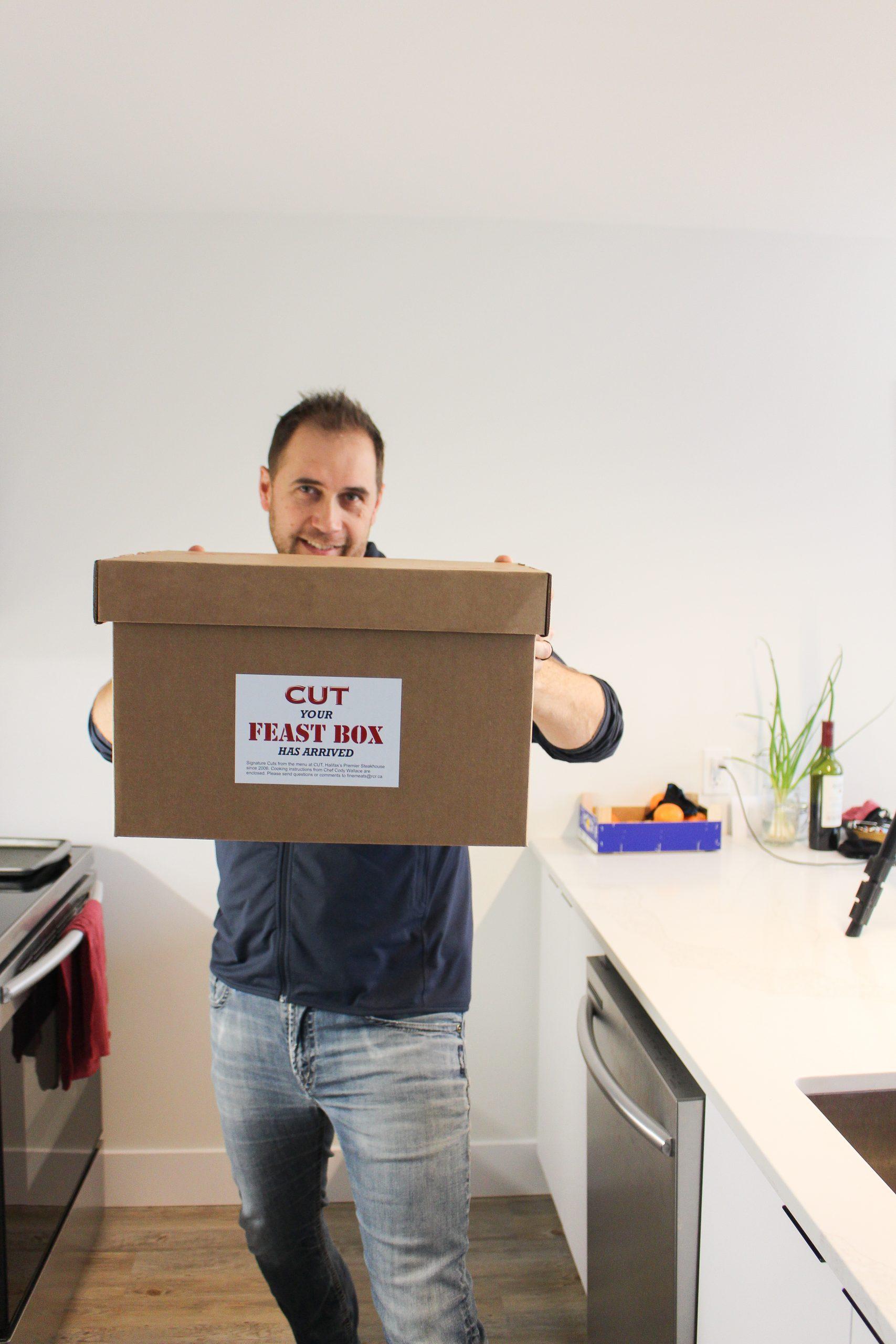 CUT feast box Halifax Take out