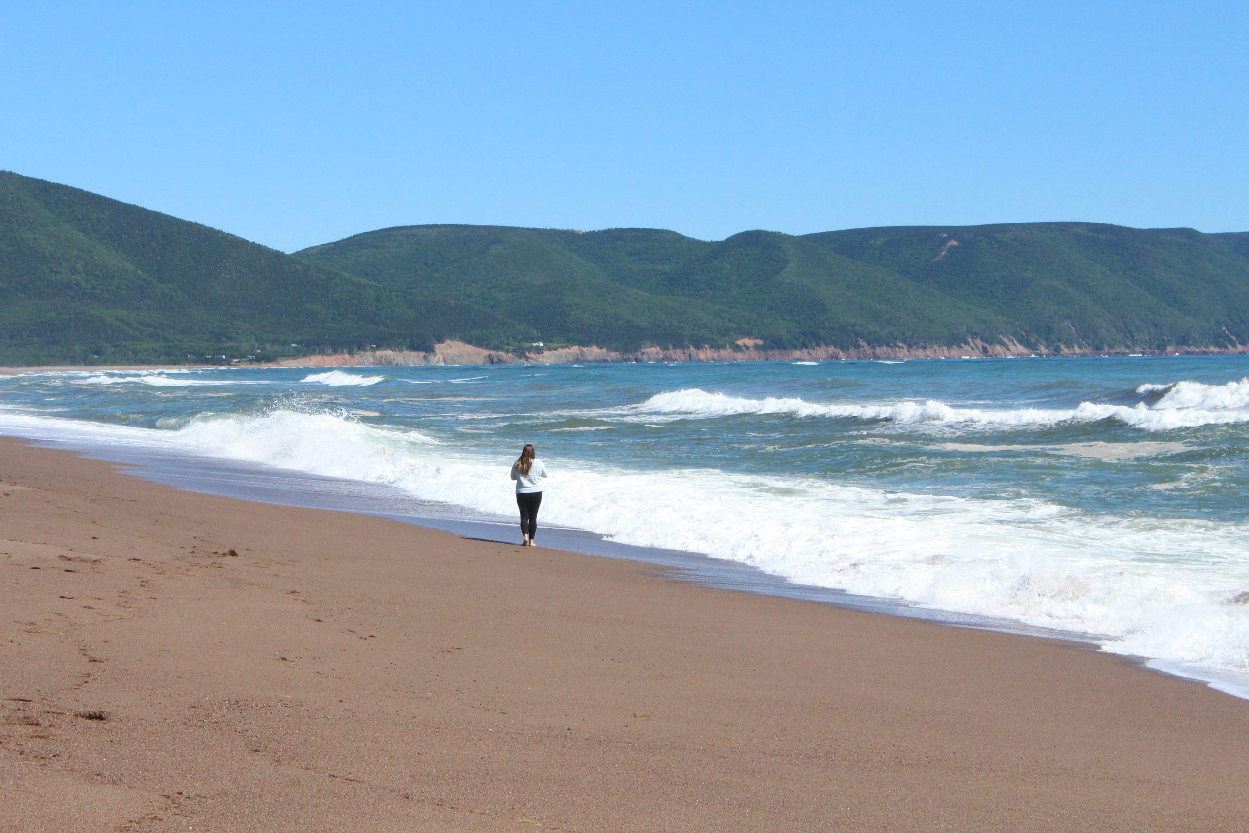 Dingwall Beach Cape Breton