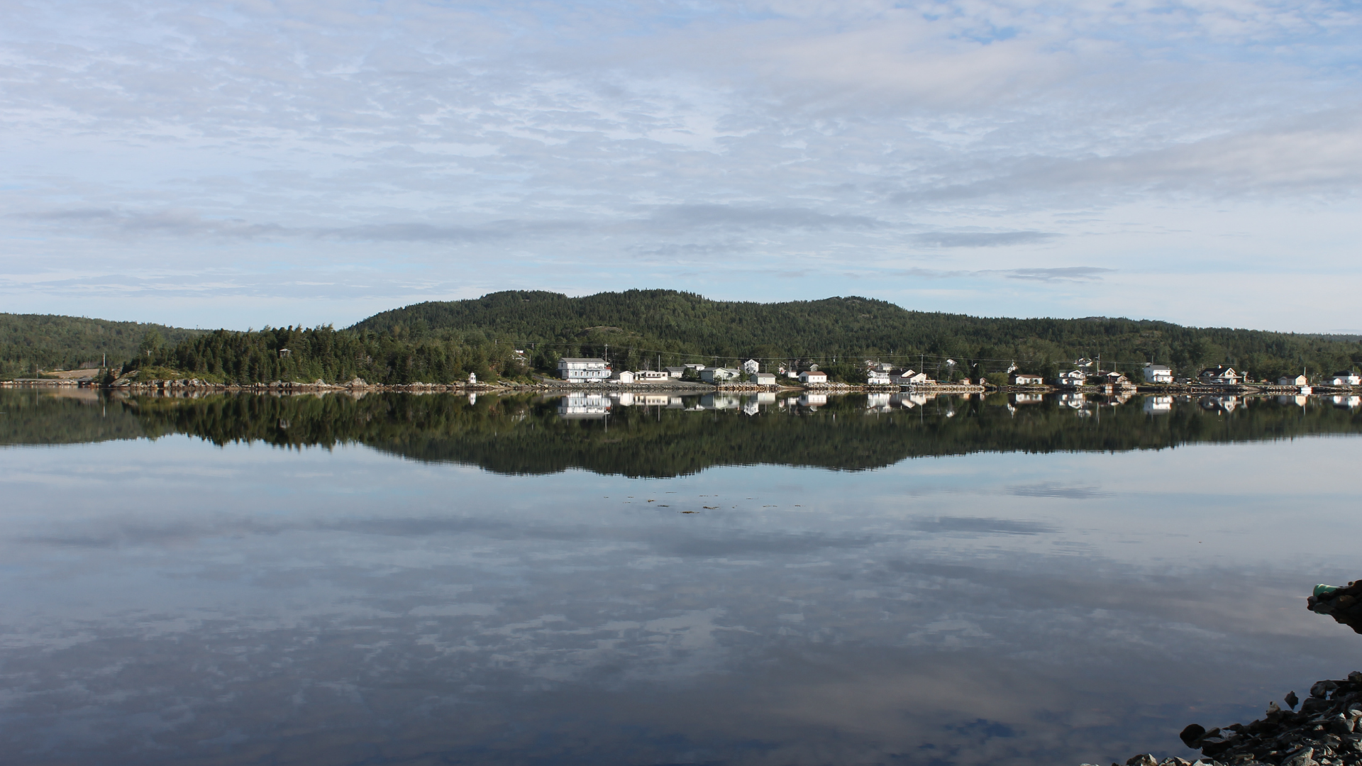 Atlantic Canada Beach Towns Eastport Newfoundland