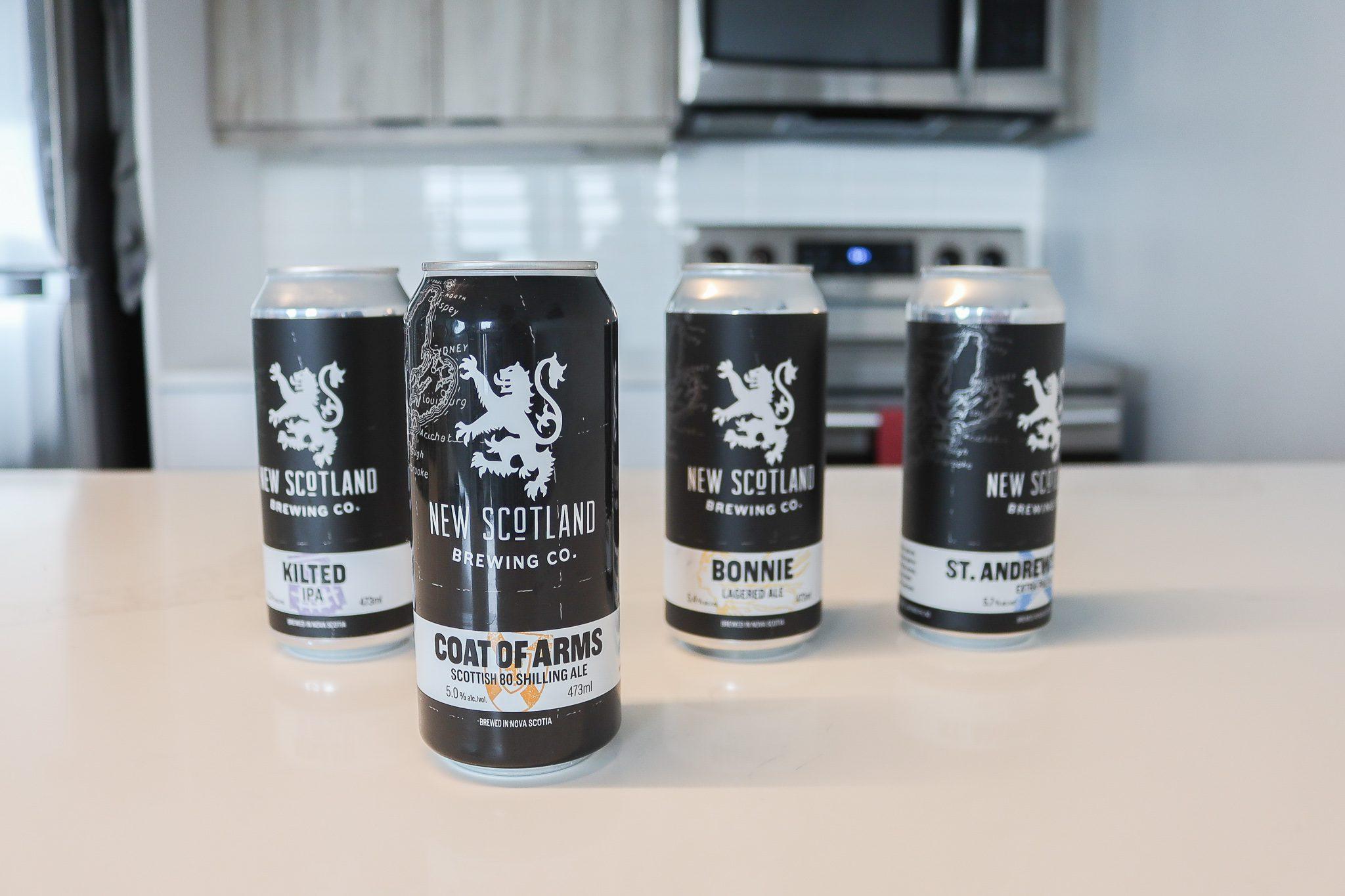 New Scotland Brewing Co Craft Beer Halifax