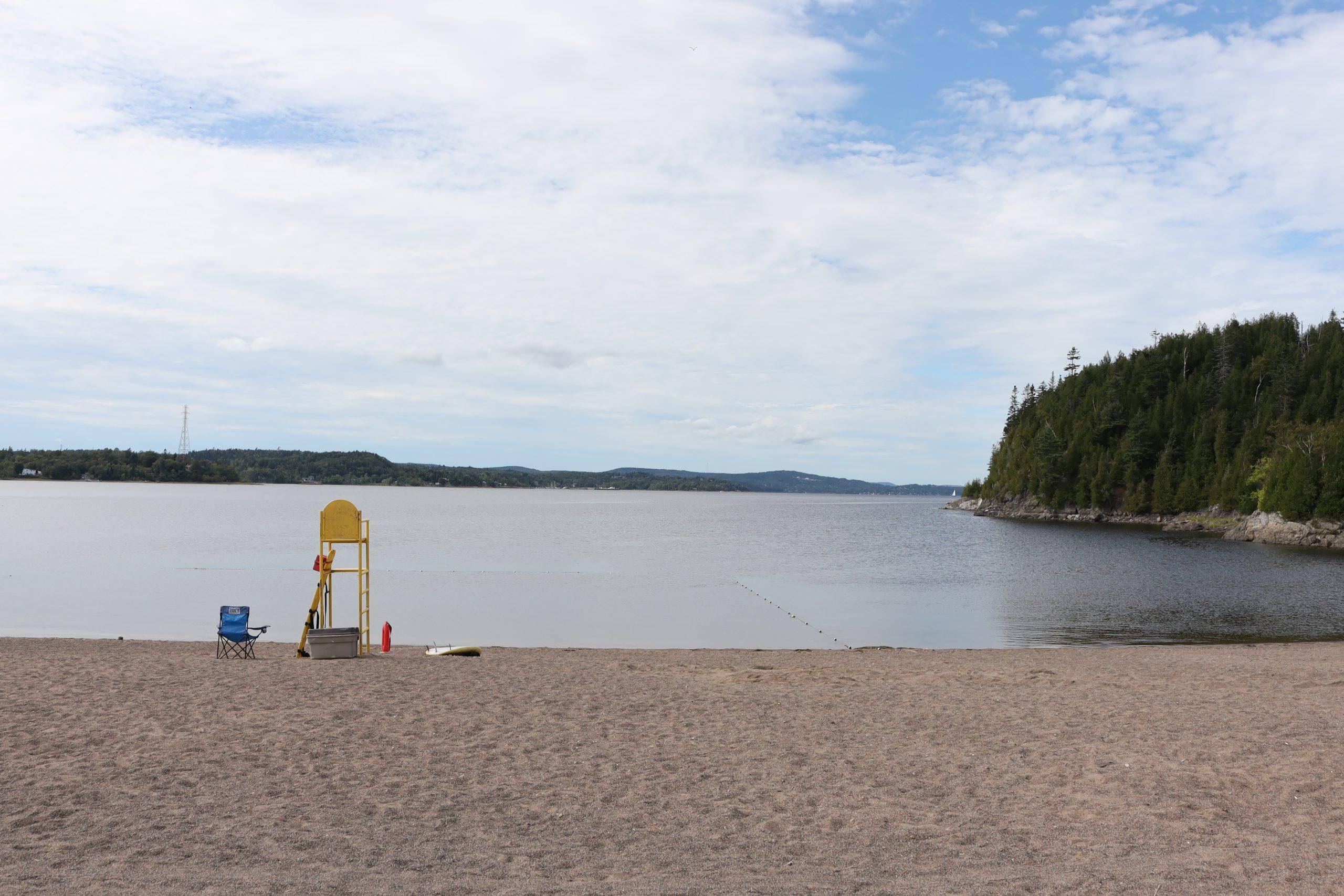 Dominion Park Beach Saint John