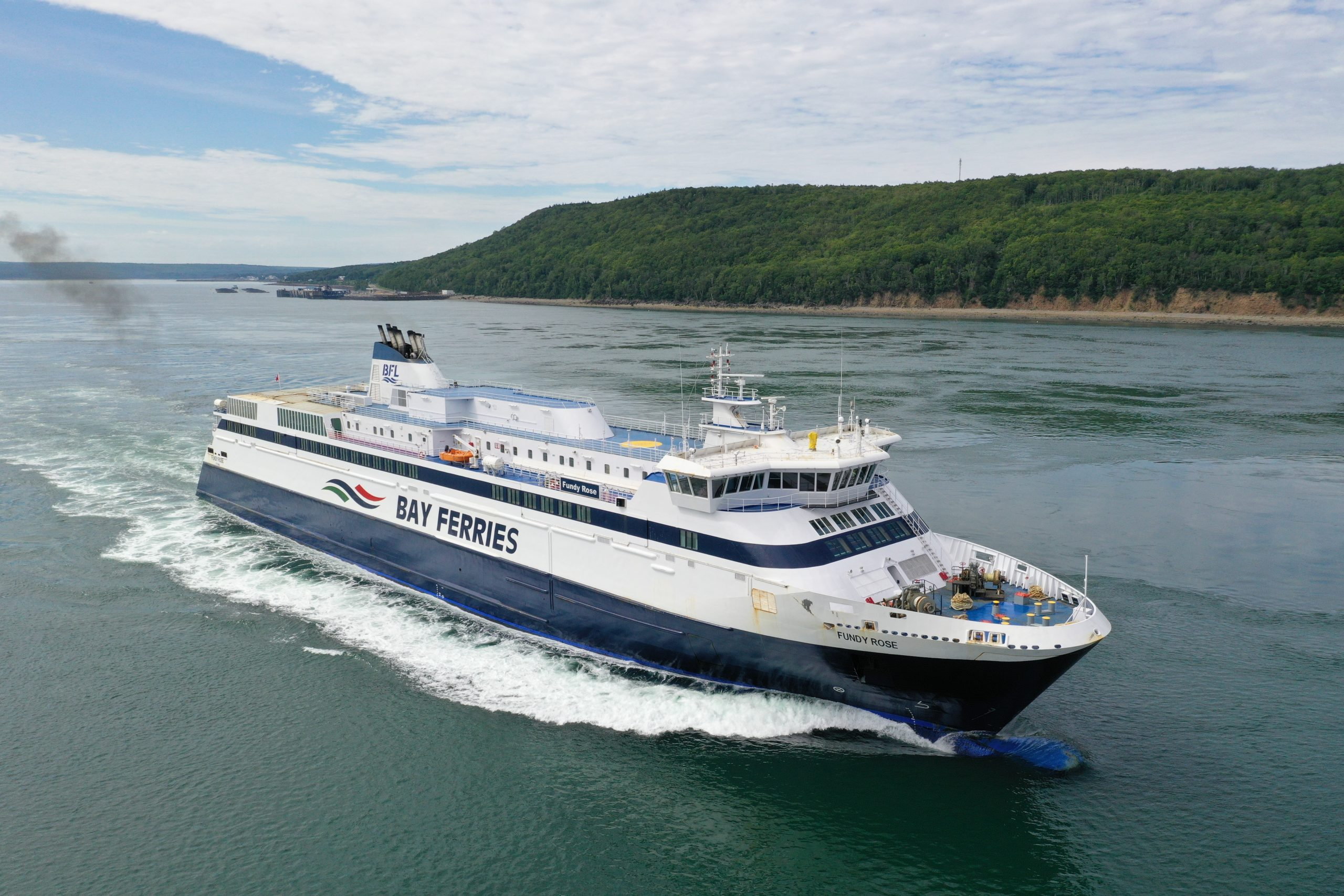 Fundy Rose Ferry from Digby to Saint John